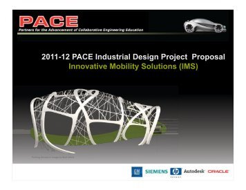 Project Definition - PACE
