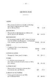 0,07 Mo - Société archéologique, historique et scientifique de ...