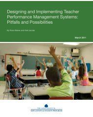 Designing and Implementing Teacher ... - AITSL Newsroom