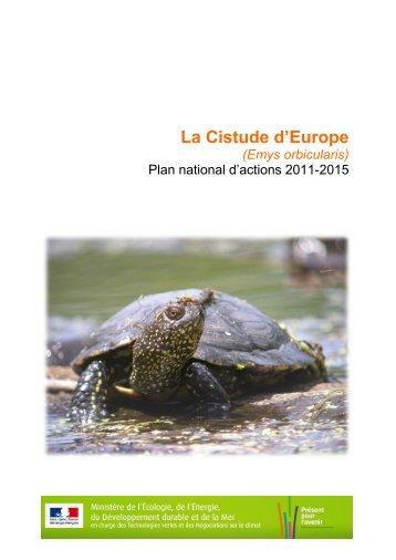 Plan National de Restauration - Ministère du Développement durable