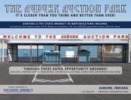 THE AUBURN AUCTION PARK - Auctions America