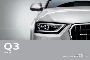 Catalogue Audi Q3 (11 MB)