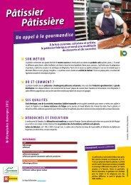Pâtissier Pâtissière - Olympiades des Métiers - Auvergne