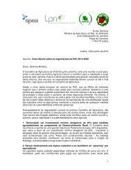Ler aqui a carta aberta enviada pela Organizações Não ...