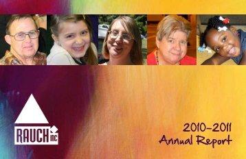 2010-2011 Annual Report - Rauch, Inc.