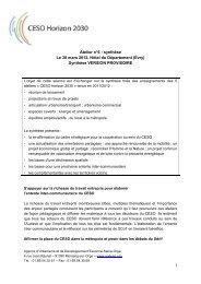 1 Atelier n°6 : synthèse Le 30 mars 2012, Hôtel du ... - AUDESO