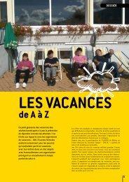 Dossier : Les vacances de A à Z - (ADAPEI) Rhône