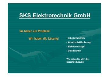 Daten- und Telekommunikationstechnik - SKS Elektrotechnik GmbH