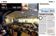 Budget 2013 - Le Grand Chalon