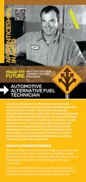 Automotive Alternative Fuel Technician - MAAP My Future