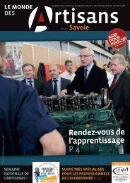 Le Monde des artisans en Savoie n°93 - Mars / Avril 2013