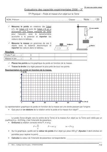 en .pdf - La physique et la chimie au collège