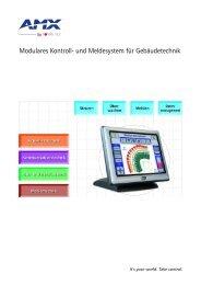 Modulares Kontroll- und Meldesystem für Gebäudetechnik