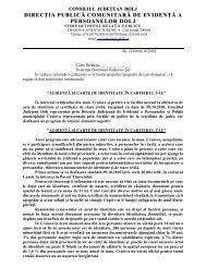 Acţiune pentru punerea în legalitate cu acte de identitate a ...
