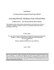 Chapter/Task 9 - Ash Characterization and Evaluation - Biomass for ...