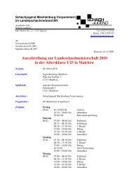 Ausschreibung zur Landeseinzelmeisterschaft 2010 in der ...