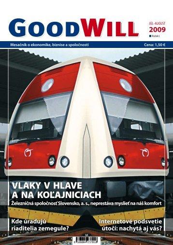 VLAKY V HLAVE A NA KOĽAJNICIACH - GoodWill - Eu.sk