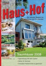Traumhäuser 2008 - RUHR MEDIEN Werbeagentur