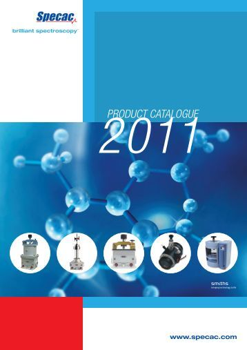 PRODUCT CATALOGUE - Specac