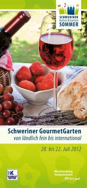 1. Schweriner Gartenmahl - Schweriner Schloß