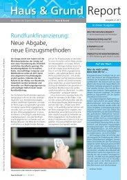 Ausgabe - Haus & Grund Aachen