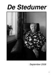 Septermber 2008 - Stedum.Com
