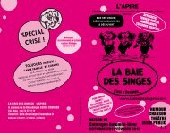 SPECIAL CRISE ! - Cezam Auvergne