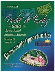 2013 Noche de Exitos Gala & Business Awards - SnapPages
