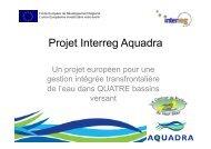 Projet Interreg Aquadra.pdf - Réseau wallon de Développement rural