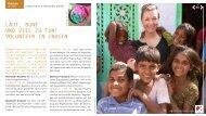 laut, bunt und Viel Zu tun! Volunteer in indien - Abenteuer Ausland