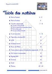 Rapport d'activité 2009 - Association Valaisanne des Entreprises de ...