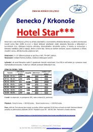 Hotel Star*** - SLAN tour
