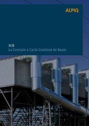 3CB - La Centrale à Cycle Combiné de Bayet PDF - Alpiq France