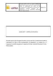 Allegato 7 Capitolato Tecnico riapertura termini - Ama