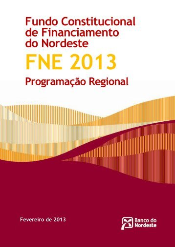 Programação 2013 - Ministério da Integração Nacional