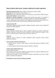 Analýza vzdělávacích potřeb organizace - NIDM