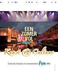 (insert): Een Zomer vol Kunst & Cultuur 2009. - Hetbeteretekstwerk.nl