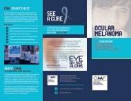 OCULAR MELANOMA - SnapPages