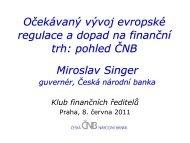 Miroslav Singer - CFO Club