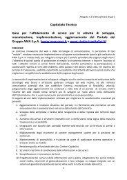 5 Disciplinare Capitolato tecnico gara WEB - Ama