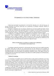 L'identité de la ville de Soissons - Société archéologique, historique ...