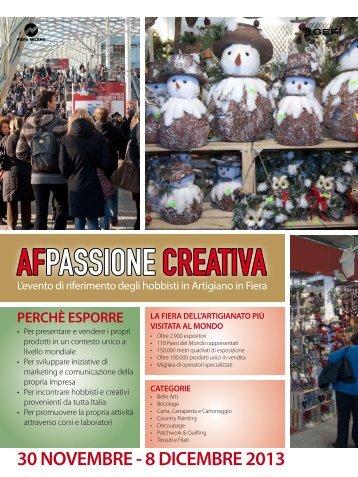 AFPASSIONE CREATIVA - L'Artigiano in Fiera