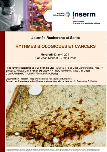 Livret des participants - Sites Inserm
