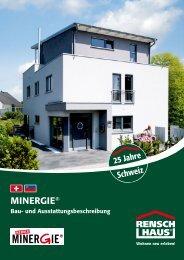 MINERGIE® - rensch haus - Rensch-Haus GmbH