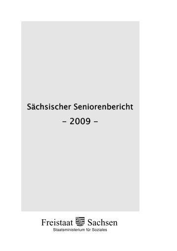 Sächsischer Seniorenbericht - Familie - Freistaat Sachsen