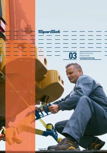 Bereichskatalog Ladungssicherung - SpanSet GmbH & Co. KG