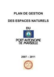 plan de gestion des espaces naturels du - Pôle-relais lagunes ...