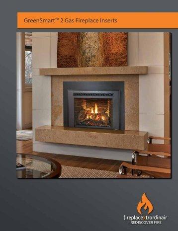 GreenSmart 2™ Gas Fireplace Inserts - Fireplaces