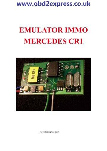 EMULATOR IMMO MERCEDES CR1 - Car diagnostic tool