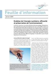 bilans énergétiques et environnementaux